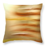 Common Sword Ferns, Polystichum Throw Pillow