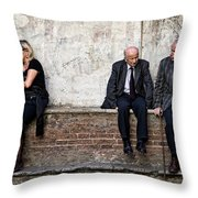 Communication Throw Pillow