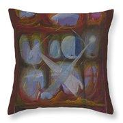 Communication In Xx-73 Galaxy Throw Pillow