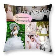 Communion Photography Throw Pillow