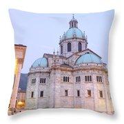 Como Cathedral Throw Pillow