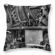 Comox Logging Engine No.11 Throw Pillow