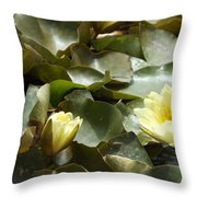 Company For Lily Throw Pillow