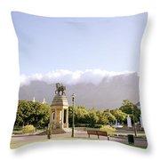 Company Gardens Throw Pillow