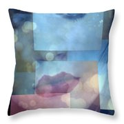 Compartmentalised Throw Pillow