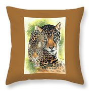 Compelling Throw Pillow by Barbara Keith