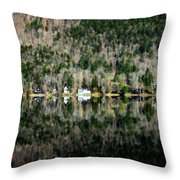 Complete Reflection Throw Pillow