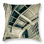 Complex Architecture Throw Pillow