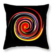 Complex Simplicity Throw Pillow