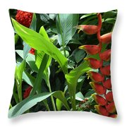 Complimentary Contrasts Throw Pillow
