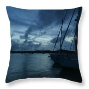 Composed Silence Throw Pillow