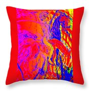 here I am composing again so please don't hate me   Throw Pillow by Hilde Widerberg