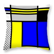 Composition 101 Throw Pillow