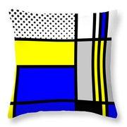 Composition 103 Throw Pillow