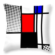 Composition 105 Throw Pillow