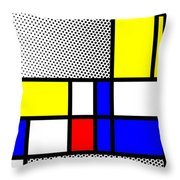 Composition 111 Throw Pillow