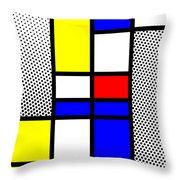 Composition 112 Throw Pillow