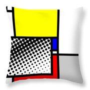 Composition 115 Throw Pillow