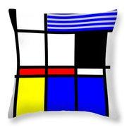 Composition 117 Throw Pillow