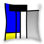 Composition 119 Throw Pillow