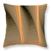 Composition 137 Throw Pillow