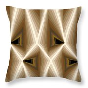 Composition 257 Throw Pillow