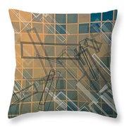 Composition 45 Throw Pillow