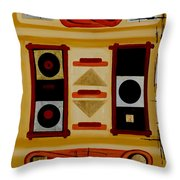 Composition - 6 - Throw Pillow