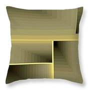 Composition 70 Throw Pillow