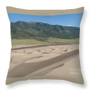 Composition Divide Throw Pillow