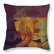 Composix - 164164100a2t1 Throw Pillow by Variance Collections