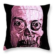 Compostite Self Portrait Fun Throw Pillow