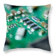 Computer Board Throw Pillow