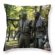 Comrades   Throw Pillow