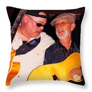 Con And Mark Throw Pillow