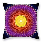 Concentration Design Throw Pillow