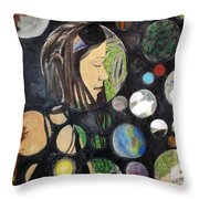 Concept 365 - Your Heart Makes Up Your Mind Throw Pillow