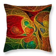 Conception Abstract Throw Pillow