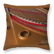 Concert Grand Throw Pillow