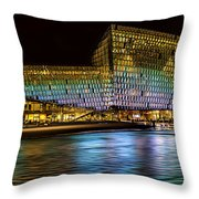 Concert Hall Throw Pillow