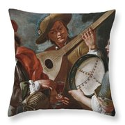 Concertino Throw Pillow