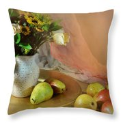 Concerto Throw Pillow by Diana Angstadt