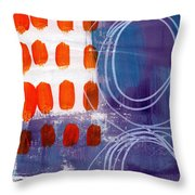 Concerto One - Abstract Art Throw Pillow