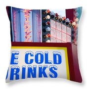 Concession Stand Throw Pillow