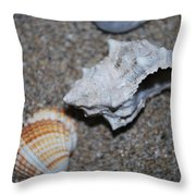 Conch 2 Throw Pillow