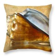Conch 2 Throw Pillow