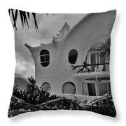 Conch Casa Throw Pillow