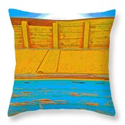 Conch House Throw Pillow