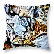 Conch Shells From St John Throw Pillow