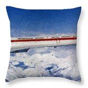 Concorde Throw Pillow
